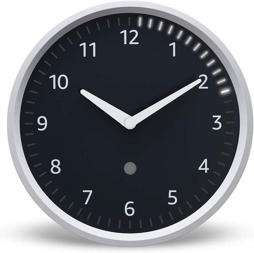An image of the Amazon Echo Wall Clock on a white background.
